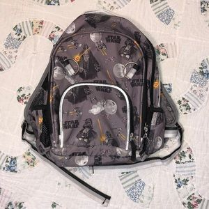 Pottery Barn Star Wars Large Kids  Backpack Gr/Blk